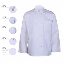 Mannen chef <span class=keywords><strong>uniform</strong></span>, wit chef jas, custom chef jas
