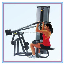 Commercial fitness equipment pulldown seated rowing 9A002