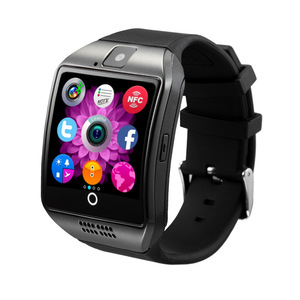 2018 Hot selling Android smart phone watch for kid Q18 touch screen smartwatch