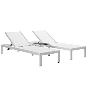 Open air Stylish outdoor wicker beach chair/lounger/Seaside sun bed/Lawn chaise lounge chair