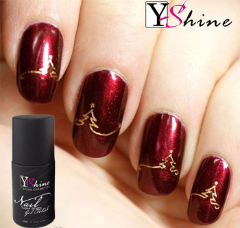 The Dark Red Jewel Ruby Series Color Gel Polish For Nail Art