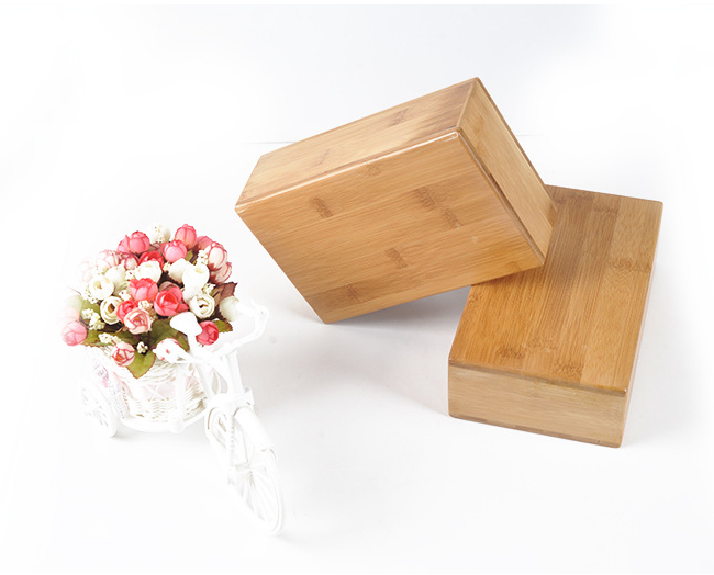 Factory price high quality custom bands wooden bamboo yoga block