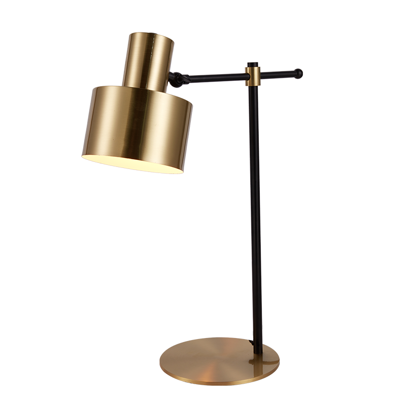 Modern Style Classic Wrought Iron Table Lamp For Study