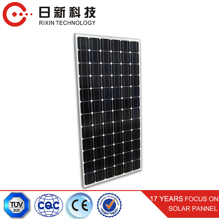 Cheap Monocrystalline Sunrise PV Solar Panels On Houses