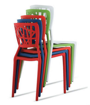 Hot Modern Plastic Chair Dining Leisure Fast Food