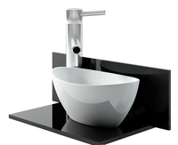 Vacuum forming plastic basin with custom sizes High quality bathroom basin Elegant and nice art basin