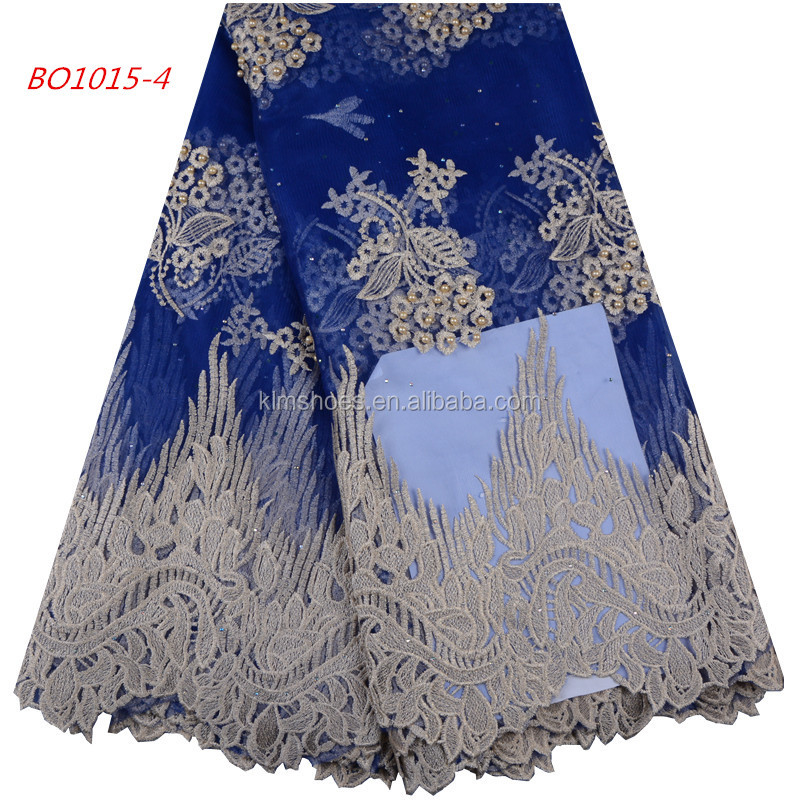 Lace Realistic 2018 African Lace Fabric High Quality French Net Lace Fabric With Rhinestones White African Lace Fabric For Nigeria Lace Wedding