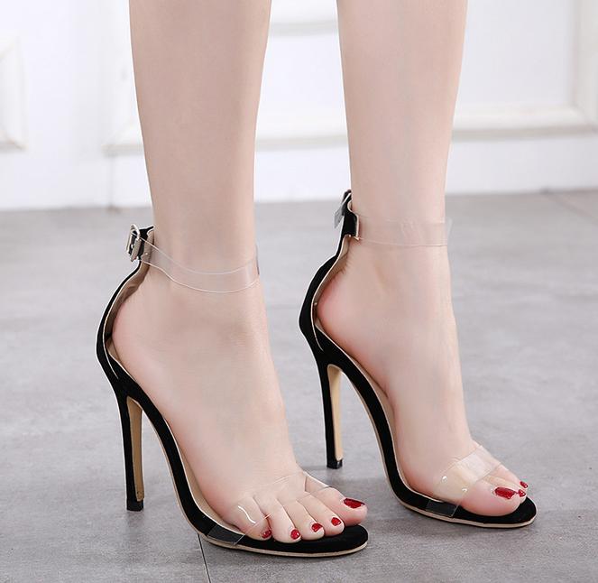 100c894e1 X86294A السيدات يتوهم الصيف الصنادل أحذية جيلي الصنادل للنساء بنات جميلة