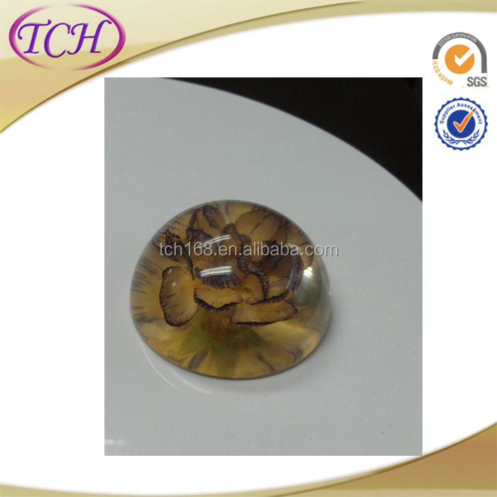 Fashional Transparent lucite Paperweight with silkscreen Alibaba