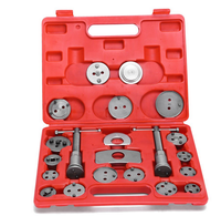 21pcs Universal Disc Brake Caliper Piston Pad Car Rewind Wind Back Auto Repair Tool Kit