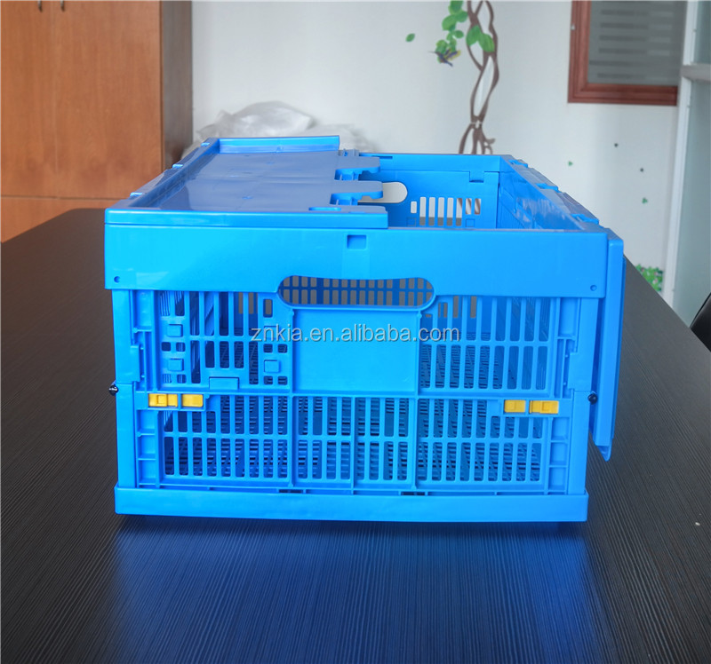 mesh box style and PP plastic material plastic moving crates
