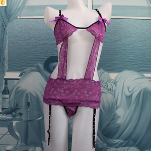 hot sale fantasy teddies lingerie with nightyclothing and brief