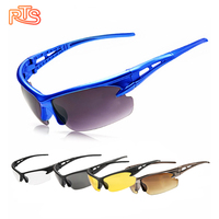 RTS Anti Glare Windproof Sports Sunglasses Protect Eyes Safety Goggles Cycling Glasses Cycling Bicycle Sports Glasses For Men