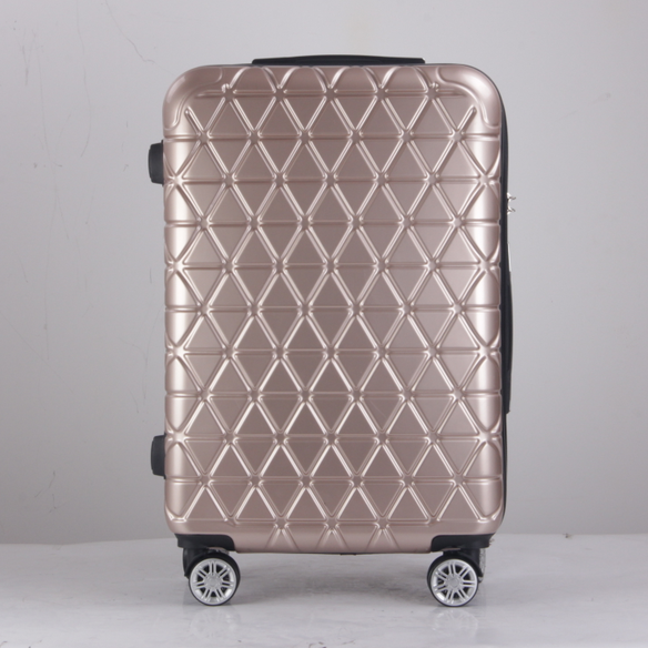 Professional durable high end zipper hand luggage trolley bags