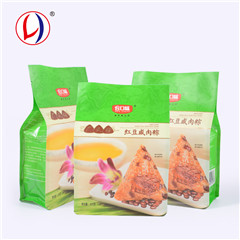 Promotion Gift Plastic Square Bottom Bag Food Grade Packing Bag For Nuts