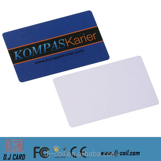 fashionable !customized rfid photo pvc smart id/ic card