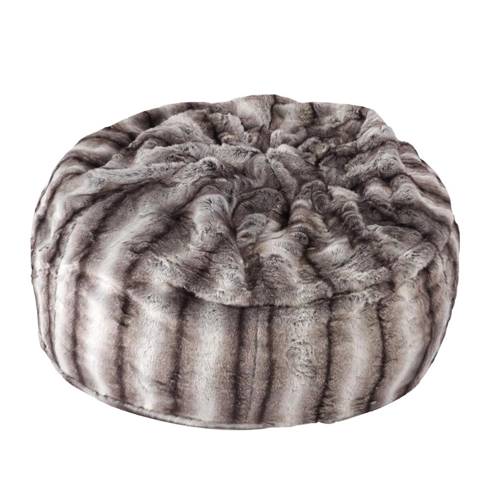 Admirable High Quality 7 Foot Large Cheap Giant Oversized Fuzzy Leather Large Faux Fur Bean Bag Buy Faux Fur Bean Bag Giant Faux Fur Bean Bag Fuzzy Bean Bag Machost Co Dining Chair Design Ideas Machostcouk