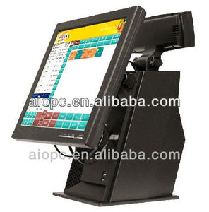 15 inch retail/restaurant/mall/supermarket point of sale pos system