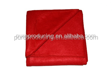 Disposable non woven airline fleece blanket