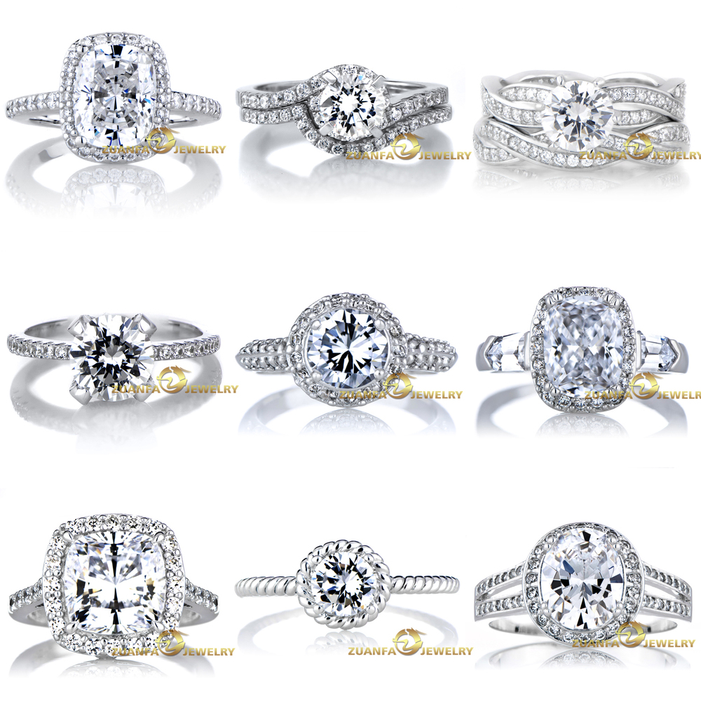 size sterling over pear rings ct si cz collections rhodium shape halo products engagement silver bands original