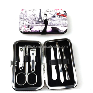 Luxurious personal care nail tools Manicure & Pedicure Set for girl