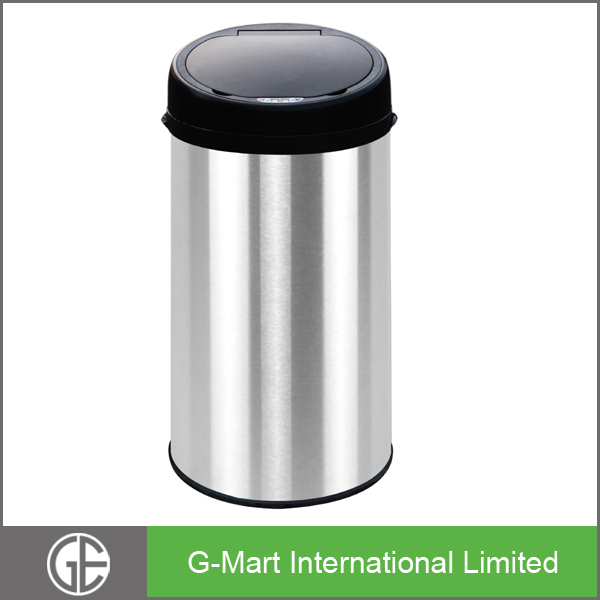 kitchen trash can size. 13 gallon kitchen trash can to close full