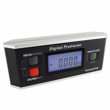 Digital Angle Finder Level Protractor Inclinometer Magnetic V-Groove with Backlight Industrial Automotive Use
