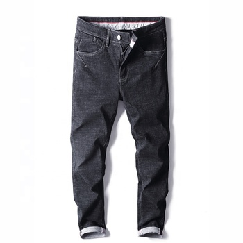 latest stretch slim fit  fashion denim skinny trousers jeans men