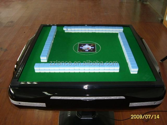2015 hot sale La-MJ88 automatic mahjong machine/ automatic majiang table