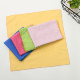 Soft fine microfiber suede fleece clean towel finger marks remover wiping cloth for delicate artworks mobile screens