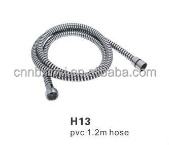 Cixi Good Quality Extension PVC Plastic Bathroom Handheld Shower Head System Connector Hose