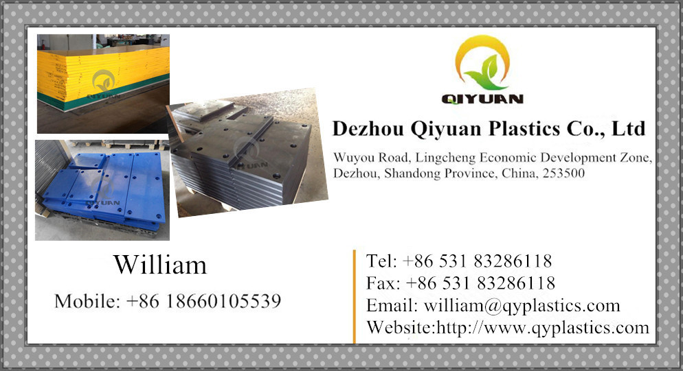 UHMWPE and HDPE board/ sheet for filter plate/ suction box cover panel of paper machine dewatering elements