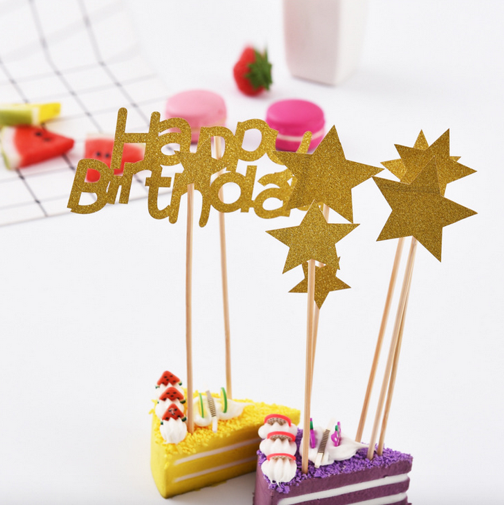 Party supplies funny custom birthday cake topper