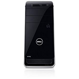Dell XPS 8700 Intel Core i7-4770 3.40GHz 8GB RAM 1TB HDD Win7 Home Premium 64-bit Mini-tower Black Desktop Computer