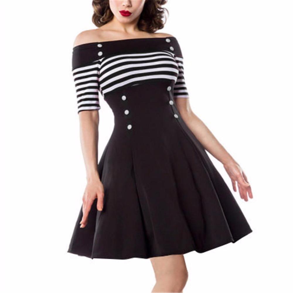 50s vintage dress retro dress 1950s style pin up rockabilly