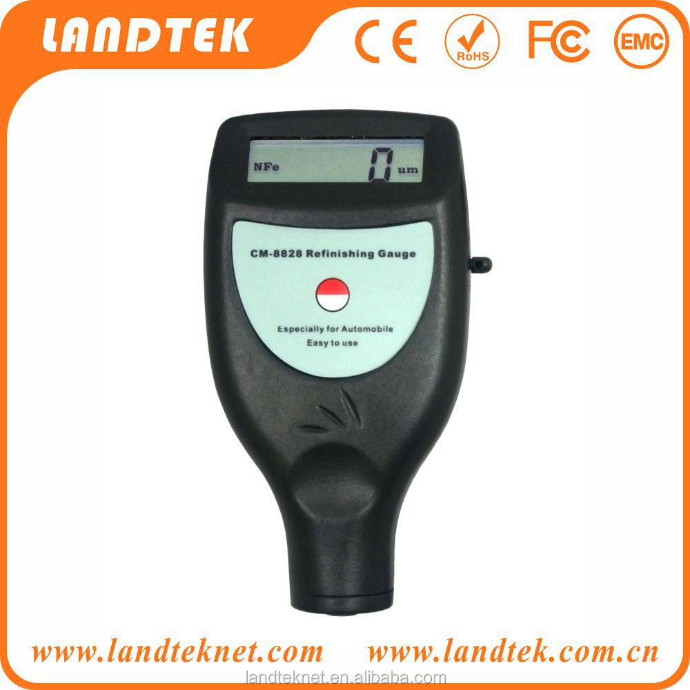 Portable Digital Car Painting <strong>Thickness</strong> Tester CM8828(0~1.25mm Enamel Plastic Epoxy)