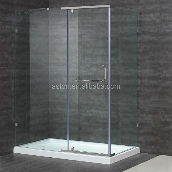 luxury sliding cUPC shower stall