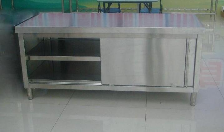 Keukenkast Met Schuifdeuren : Roestvrij stalen wand kast met schuifdeuren werken kast keukenkast