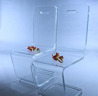 Custom Acrylic Dining Chairs Clear Stacking Ghost Chair,White ...