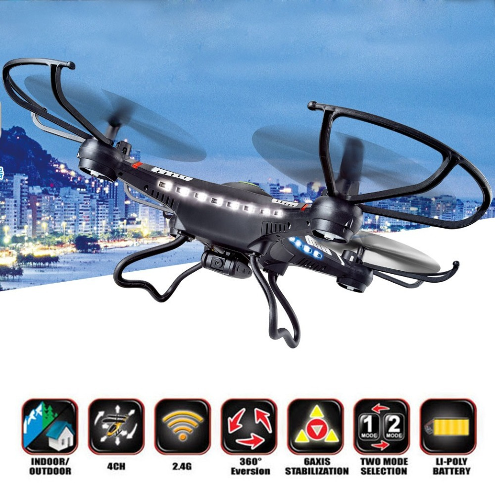 2015 Newest Drone DFD 31CM JJRC H8C 2.4G RC Helicopter 4-Axis GYRO Quadcopter