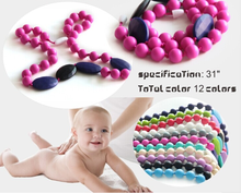 Wholesase Food Grade Baby Teething health silicon necklace factory