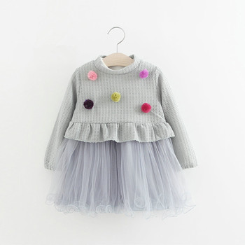 Bsd1148 Wholesale Baby Dress Pictures Korean Style Knitted Clothes With  Tutu Dress - Buy Bsd1148 Wholesale Baby Dress Pictures Korean Style Knitted
