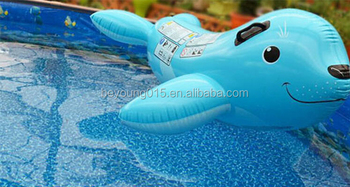 Exceptionnel Intex Inflatable Smiling Seal Ride On Flotation Swimming
