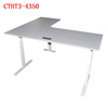 electric table sit stand electric height adjustable desk with metal table legs motorized lifting system for smart desk furniture