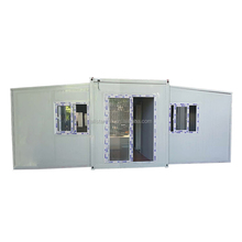 Steel prefabricated modular prefab structure expandable container house