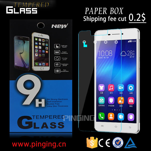 Premium 9H hardness tempered glass screen protector For Sony Xperia Z5 Compact film protector