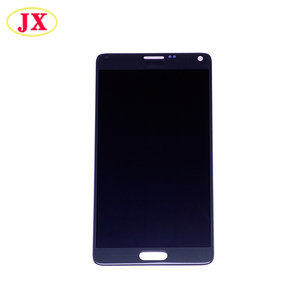 100% original new display for samsung galaxy note 4 lcd touch screen digitizer