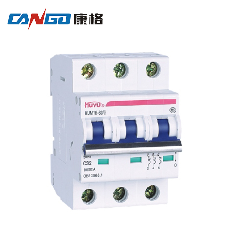 CE AC MCB C45 3P up to 63A Automatic Circuit Breaker Switch