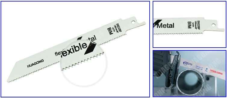 Factory direct unbreakable wood cutting saw blade thin sheet metal reciprocating saw blades