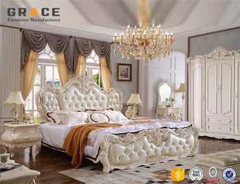 Slaapkamer Meubels Wit.Wit Vip Egyptische Slaapkamer Onderdelen Meubels Set Buy
